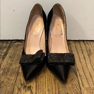 Kate Spade Black Heels Size 8.5